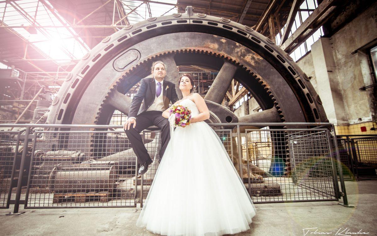 Industrial Romance Wedding